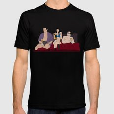 Lito, Daniela and Hernando SMALL Mens Fitted Tee Black