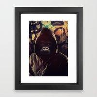 Billy Blue Framed Art Print