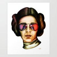 STAR WARS Princess Leia  Art Print