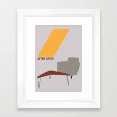 Drive - After Drive Framed Art Print