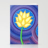 Dreamy Lotus Family Stationery Cards