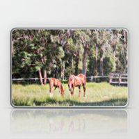 Horse And Foal Feeding I… Laptop & iPad Skin