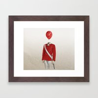 The Guard - #1 In My Ser… Framed Art Print