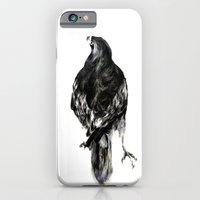 iPhone & iPod Case featuring Hawk by Hana Robinson