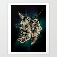 The Hanyas Art Print