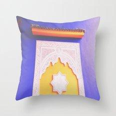 majorelle blue Throw Pillow