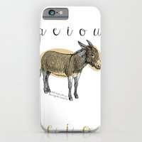 iPhone & iPod Case featuring A  e  i  o  u    borriquito como tú by Biscayne