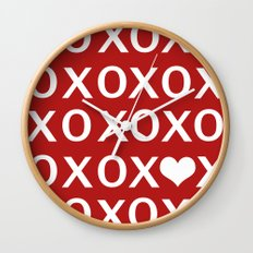 XO Wall Clock
