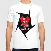Let Our Vision Expand Mens Fitted Tee White SMALL