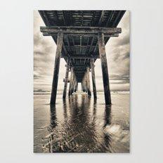 Ocean City Pier Canvas Print