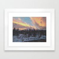 Breckenridge Colorado Framed Art Print