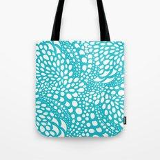 Octopus Dots: Bermuda Blue Tote Bag