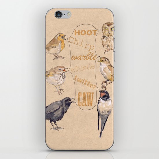 Bird Sounds iPhone & iPod Skin