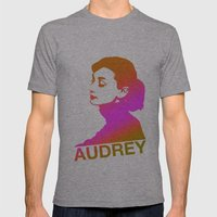 Audrey Mens Fitted Tee Athletic Grey SMALL