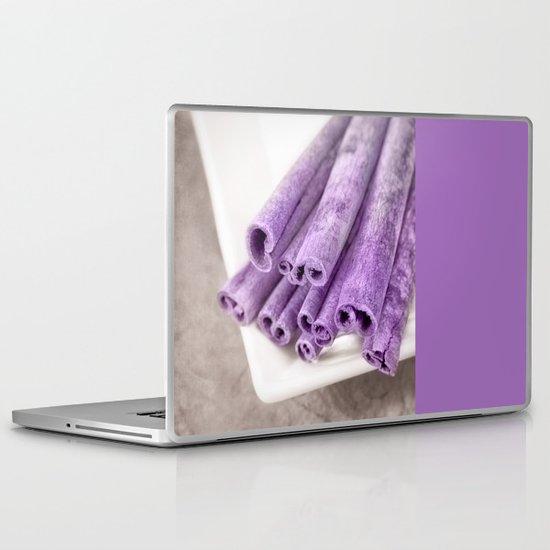 PURPLE CINNAMON Laptop & iPad Skin