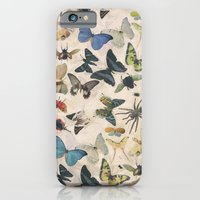 iPhone & iPod Case featuring Insect Jungle by Galvanise The Dog
