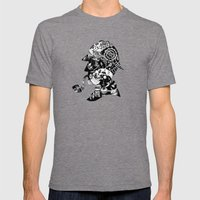 Mr. Holmes Mens Fitted Tee Tri-Grey SMALL