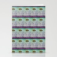 Pelican Pattern (d) Stationery Cards
