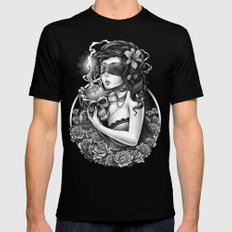 Winya No. 86 Mens Fitted Tee Black SMALL