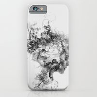 iPhone Cases featuring Dissolve Me by One Man Workshop