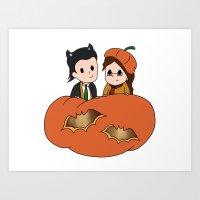 Tasertricks Halloween 20… Art Print