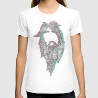 Mountain King Womens Fitted Tee White SMALL