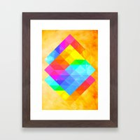 Rayon Framed Art Print