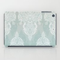 Lace & Shadows - Soft Sa… iPad Case