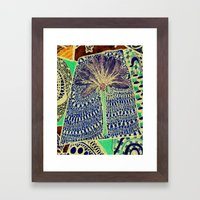 Jardin 4 Framed Art Print