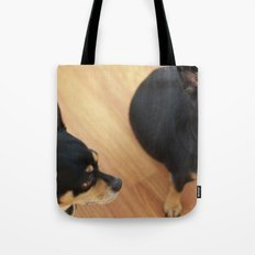 Charlie and Lucie Tote Bag