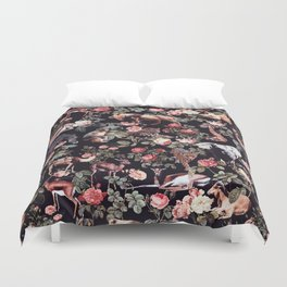Duvet Cover - Animals and Floral Pattern - Burcu Korkmazyurek