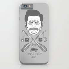 Ron Swanson Canoe Camp (clean gray variant) iPhone 6s Slim Case