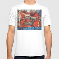 Street Dogs. Mens Fitted Tee White SMALL
