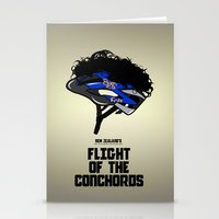 Flight Of The Conchords … Stationery Cards