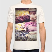 Harvest Mens Fitted Tee Natural SMALL