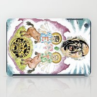 Two Horses, Tim and Eric iPad Case