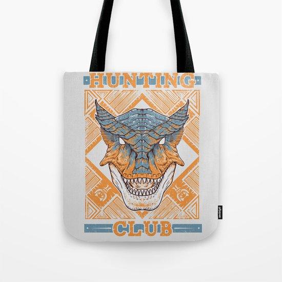 Hunting Club: Tigrex Tote Bag