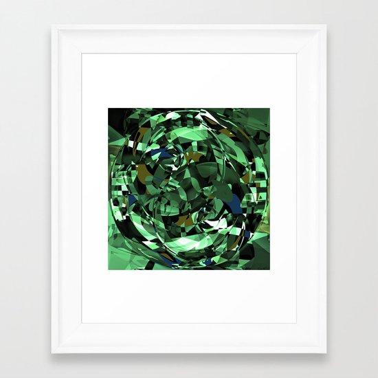 - dazzle spaceships - Framed Art Print