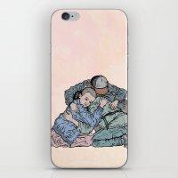 Stranger Things Hug iPhone & iPod Skin