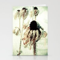 Dying Beauty Stationery Cards