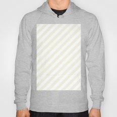Diagonal Stripes (Beige/White) Hoody
