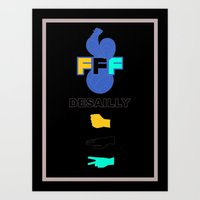 Marcel Desailly - The Rock Art Print