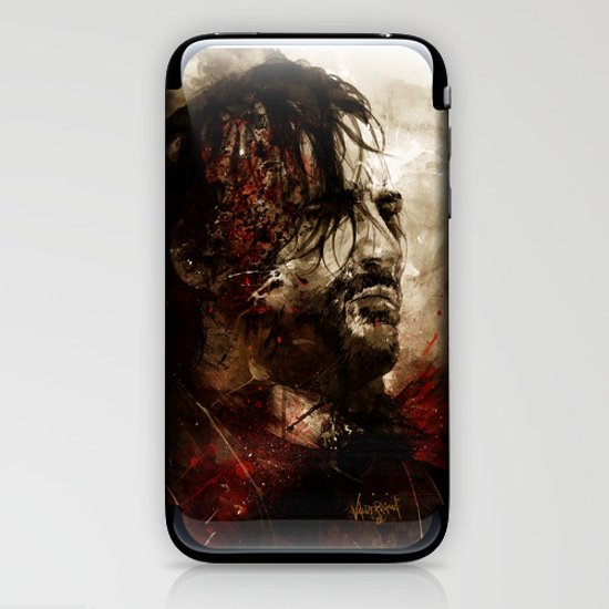 Blood of the Dogs iPhone & iPod Skin