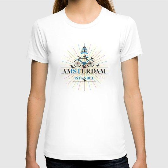 amsterdam & istanbul T-shirt