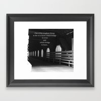 It's Your Choice Framed Art Print