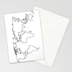 WORLD II Stationery Cards
