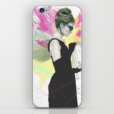 Breakfast at Tiffany's Fashion Illustration iPhone & iPod Skin
