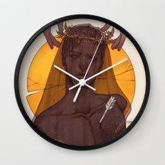 Fallen Prince Wall Clock