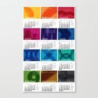2013 Pigment To Pantone … Canvas Print