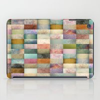 Patchwork Textures iPad Case